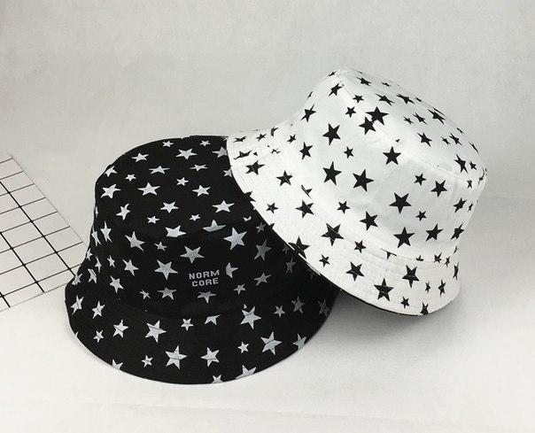 Панамка двойная со звездами