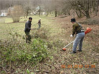 Расчистка участка в Днепропетровске