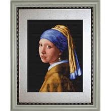 Набори для вишивання хрестом Класика Luca S Дівчина з жемчуженной