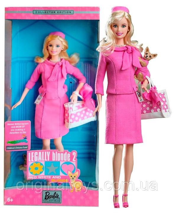 Коллекционная кукла Барби Эль Вудс Блондинка в законе Barbie Legally Blonde 2003 Mattel B9234