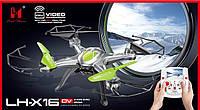 Квадрокоптер с экраном LH-X16DV 34см, HD камера+карта памяти в подарок!