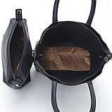 Женская сумка 2в1 Gernas G-16501, black, фото 5