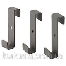 IKEA IVAR Подвесной крюк, серый (003.047.80)