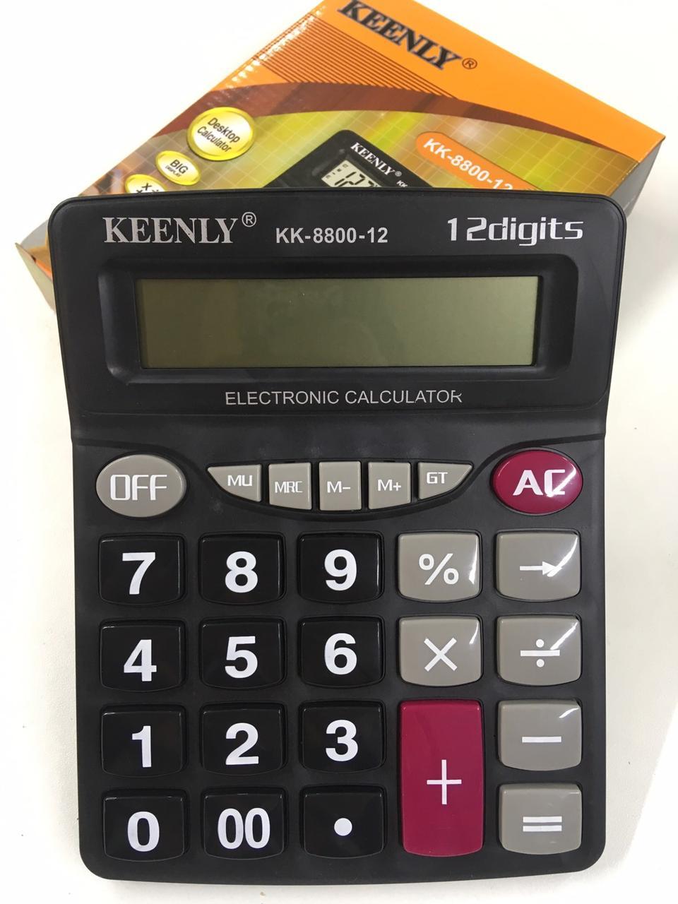 Калькулятор KEENLY KK-8800-12 (60 шт/ящ)