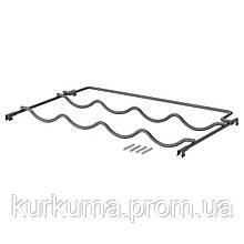 IKEA IVAR Полка для бутылок, серая, 42x30 см (403.047.78)