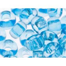 Чешский бисер Preciosa /10 для вышивания Бисер синий прозрачный 01134