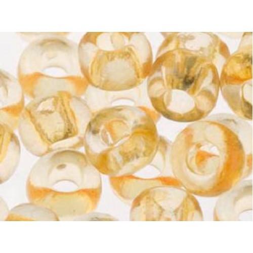 Чешский бисер Preciosa /10 для вышивания Бисер оранжевый прозрачный 01182