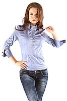 Женская рубашка №2 (стойка, пуговицы)