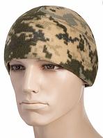 Зимняя шапка из флиса с утеплителем Slimtex цвет камуфляж MM14 40003030