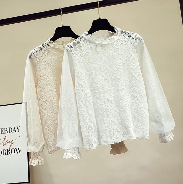 Вечерняя блузка с нарядными рукавами 42-46 (в расцветках)