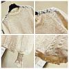 Вечерняя блузка с нарядными рукавами 42-46 (в расцветках), фото 7