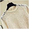 Вечерняя блузка с нарядными рукавами 42-46 (в расцветках), фото 6