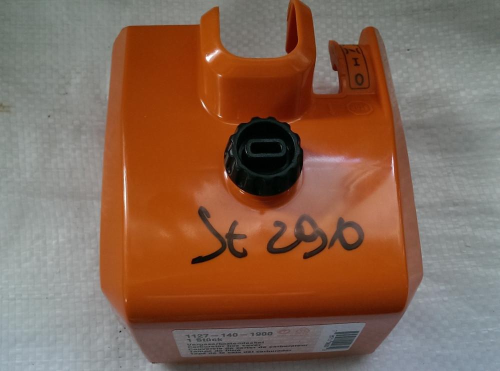 STIHL 290/390 бензопила Крышка фильтра оригинал 11271401903