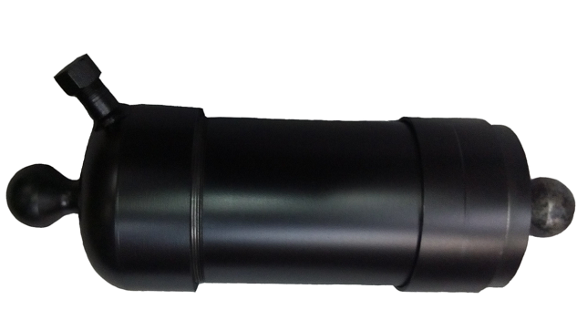 Гідроциліндр підйому кузова ГАЗ (ГЦ 3507-01-8603010) 4-х штоковый