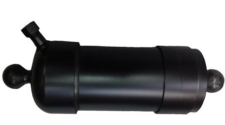 Гідроциліндр підйому кузова ГАЗ (ГЦ 3507-01-8603010) 4-х штоковый, фото 2