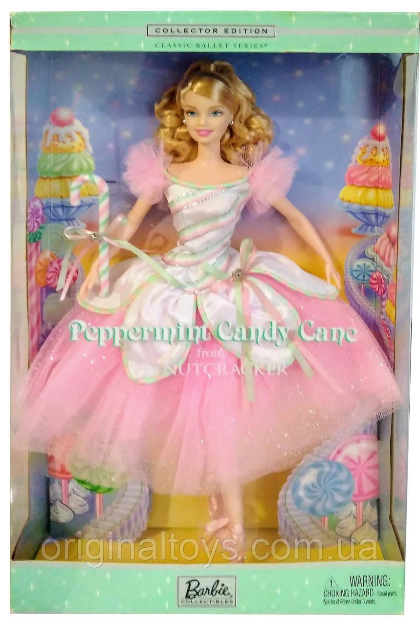 Коллекционная кукла Барби Балерина Мятная карамельная трость Щелкунчик Barbie The Nutcracker 2002