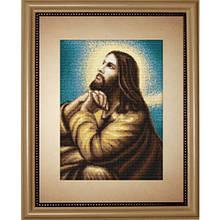 Набір для вишивання нитками Релігія Ікони Ісуса Благання