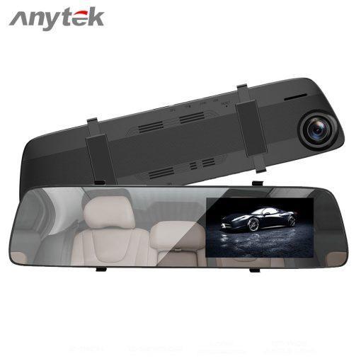 Видеорегистратор зеркало Anytek A5 Ночное видение Камера заднего вида