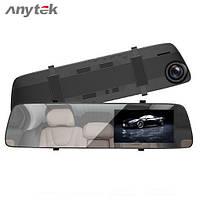 Видеорегистратор зеркало Anytek A5 Ночное видение Камера заднего вида, фото 1