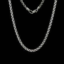 Серебряная цепочка плетение Ручеек 50 см Selenit 41003/13