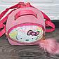 Розовый детский рюкзак с пайетками Hello Kitty (Хеллоу Китти), фото 3