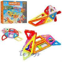 Магнітний конструктор Limo toy LT5003 36 деталі