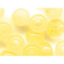 Чешский бисер Preciosa 10 для вышивания Бисер желтый оранжевый алебастровый прозрачный 02281