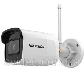 DS-2CD2021G1-IDW1 (2.8 мм) 2Мп IP видеокамера Hikvision Wi-Fi модулем, фото 2