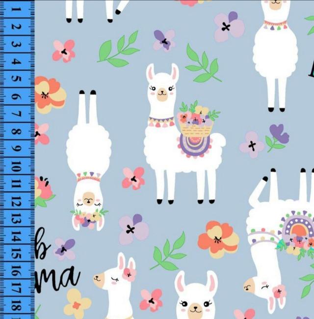купить ткань стрейч-кулир лама в нашем магазине