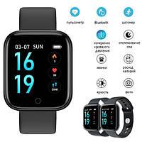 Фитнес-браслет Apple band T80, два ремешка, тонометр Smart Watch, фото 1