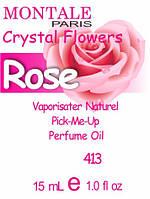 Духи 15 мл (413) версия аромата Монтале Crystal Flowers