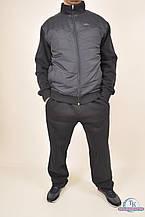 Костюм спортивный мужской комбинированный на флисе Billcee 51M8251-3IP Размер:56