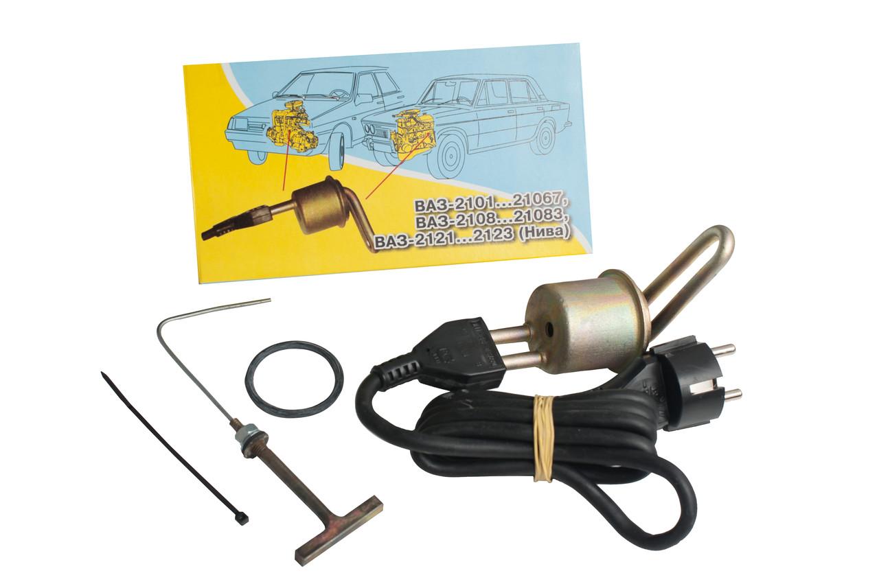 Електропідігрівач двигуна АвтоТЕН, ЭМ1-36-0,6/220 на ВАЗ 2108-21083, Фольцваген Т4, 1,9
