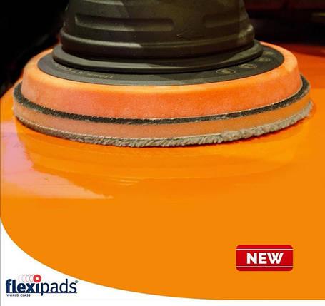 Полировальный круг микрофибровый екстра режущий - Flexipads Grey Microfibre XTRA Cutting 155 мм. (MGCX6), фото 2