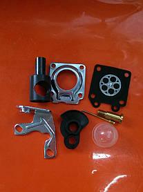 Набор мембран, ремкомплет карбюратора для мотокос Китай ( цилиндр 36 или 34мм) маленькое отверстие