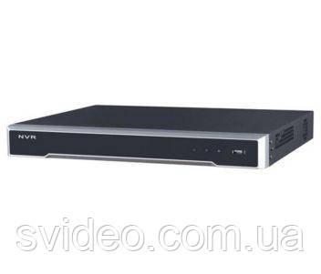 DS-7608NI-K2/8p 8-канальный NVR c PoE коммутатором на 8 каналов