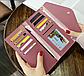 Женский кошелек красный с кисточкой код 375, фото 2