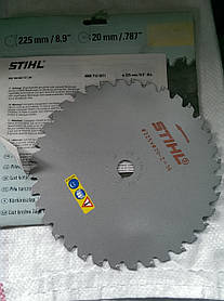Нож STIHL 225 с твердосплавными напайками 40007134211