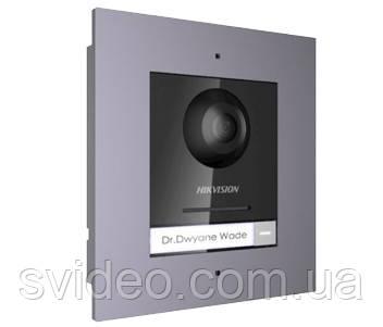 DS-KD8003-IME1/Flush Комплект модуля вызывной IP панели + врезная рамка, фото 2