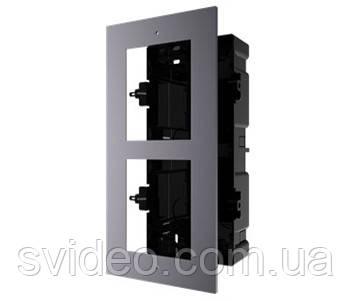 DS-KD-ACF2/Plastic Врезная монтажная рамка на 2 модуля, фото 2