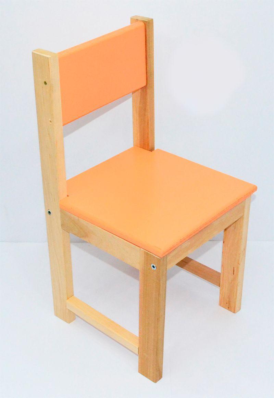 Стульчик 1 оранжевый Игруша - 219679
