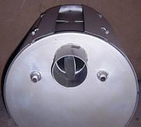 Печь отопительная длительного горения с встроенным водяным контуром ПОТ-5 УкрПечи