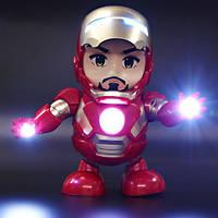 Интерактивная игрушка IRON MAN Tomax Танцующий робот DANCE SUPER HERO Музыкальный, фото 1