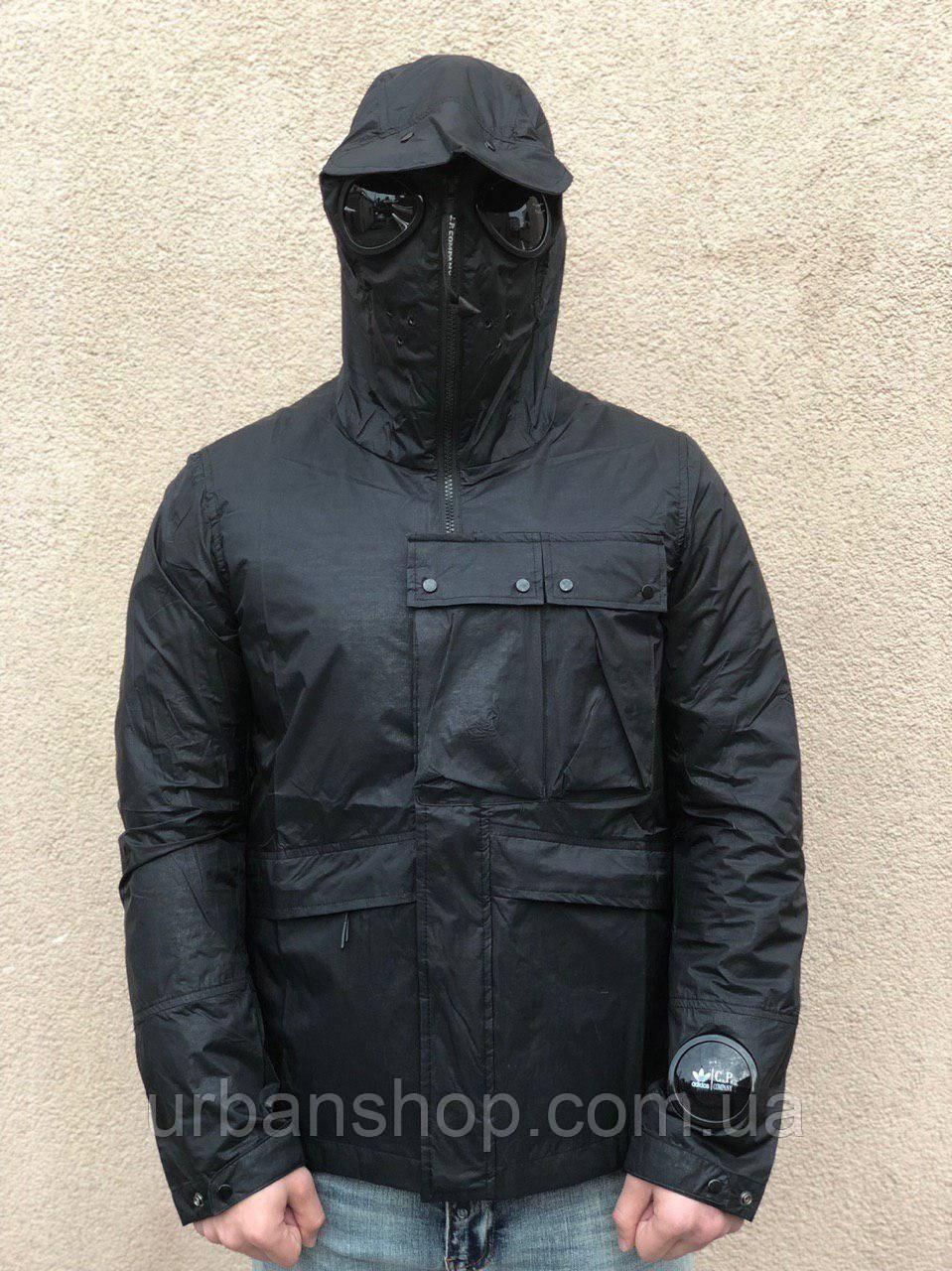 Вітровка/парка C.P. Company х Adidas - black