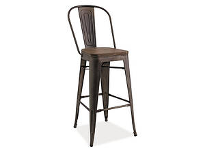 Барный стул Loft H-1 (графит)