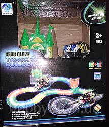 Детский гоночный трек светится в темноте,(Magic Tracks)  , развивающая игрушка