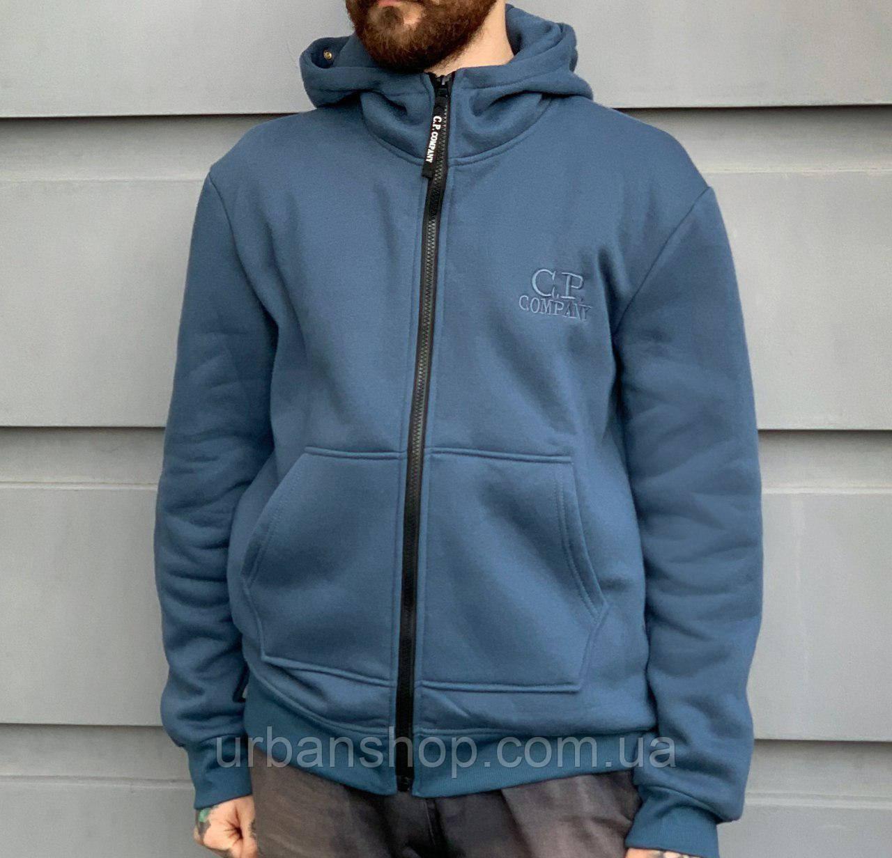 Худі C.P. Company синє