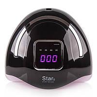 Лампа для маникюра LED+UV лампа STAR 2 72 Вт Black