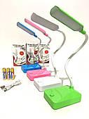 Лампа настольная LED светодиодная Tomax настольная от USB и батареек