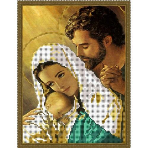 Вишивка схеми бісером, Канва Ікони Релігія Святе сімейство